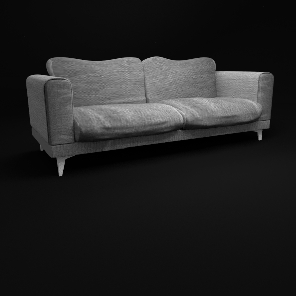 3DOcean Minimalist Sofa With Jeans Texture 11089345