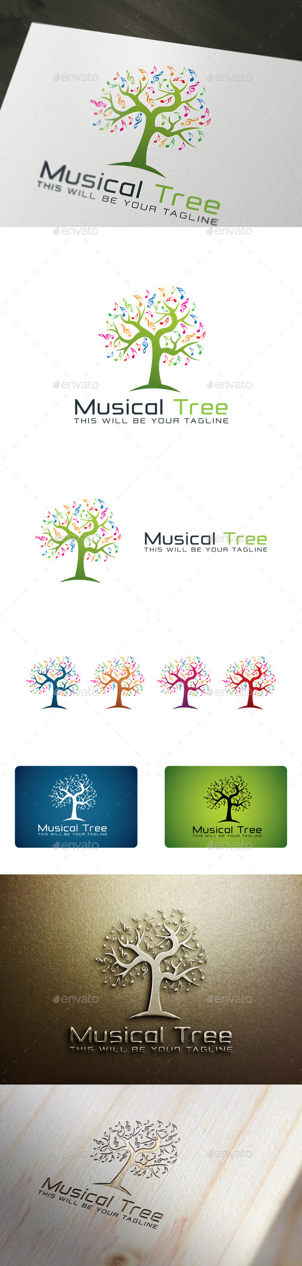 GraphicRiver Musical Tree 11146547