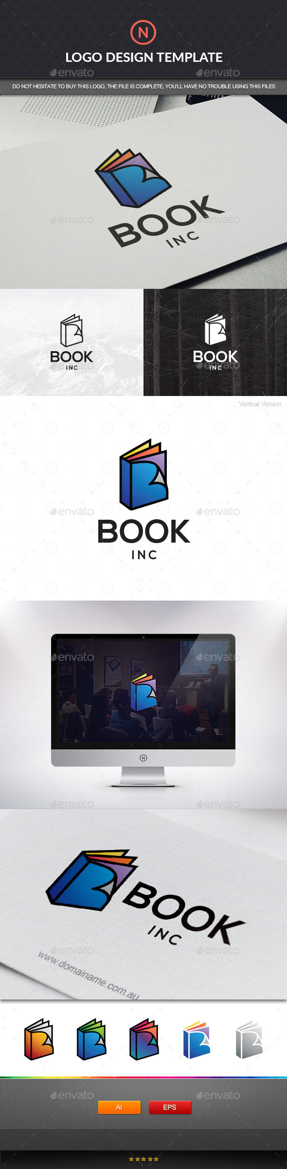 GraphicRiver Book Color 11146765