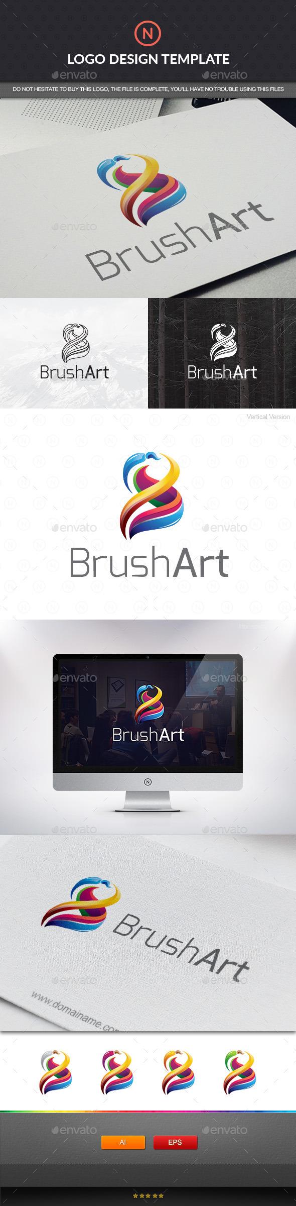 GraphicRiver Art Color Brush 11146775