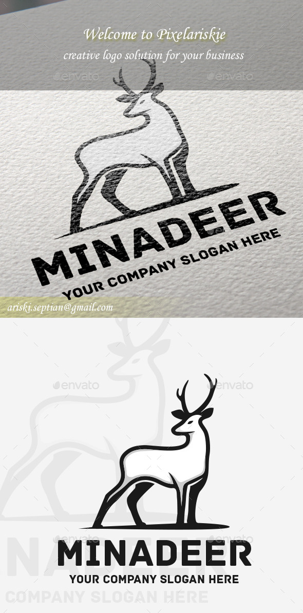 GraphicRiver Deer Animal Logo 11146870