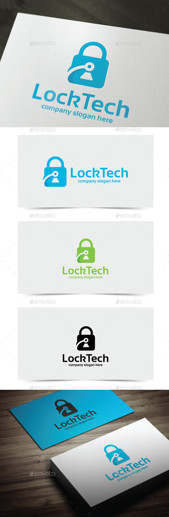 GraphicRiver Lock Tech 11146989
