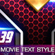 39 Movie Text Style Premium - GraphicRiver Item for Sale