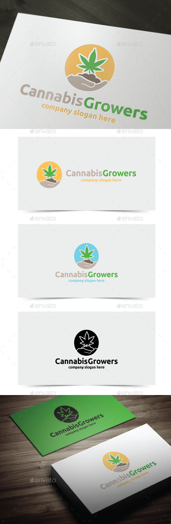 GraphicRiver Cannabis Growers 11147046