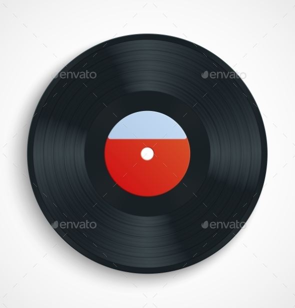 GraphicRiver Vinyl Record 11147275