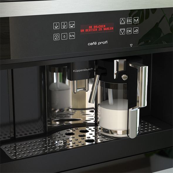 Black Coffee Machine EKV6500 Kuppersbusch