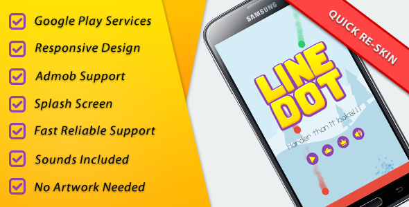 CodeCanyon LineDot Leader & Achievements & IAP & Share 11148241