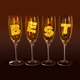 "A few glasses with the text ""best"" - PhotoDune Item for Sale"