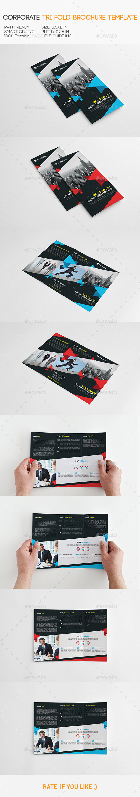 GraphicRiver Corporate Trifold Brochure 11148571