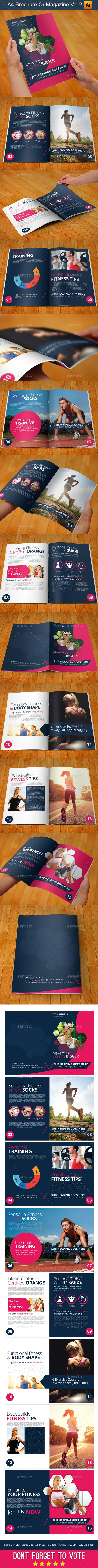 GraphicRiver A4 Brochure Or Magazine Vol.2 11092867