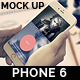 Phone 6 Mock Up - GraphicRiver Item for Sale