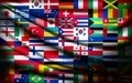 Big flag background made of world country flags.  - PhotoDune Item for Sale