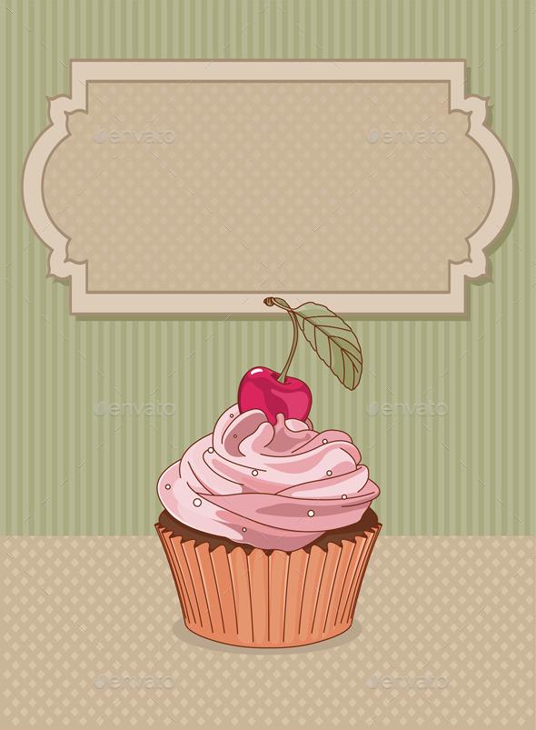 GraphicRiver Cupcake 11150063