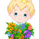 Prince Holds Flowers - GraphicRiver Item for Sale