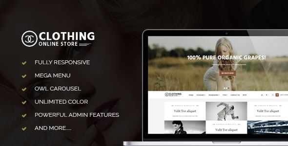 Image of Leo Clothing Prestashop Theme