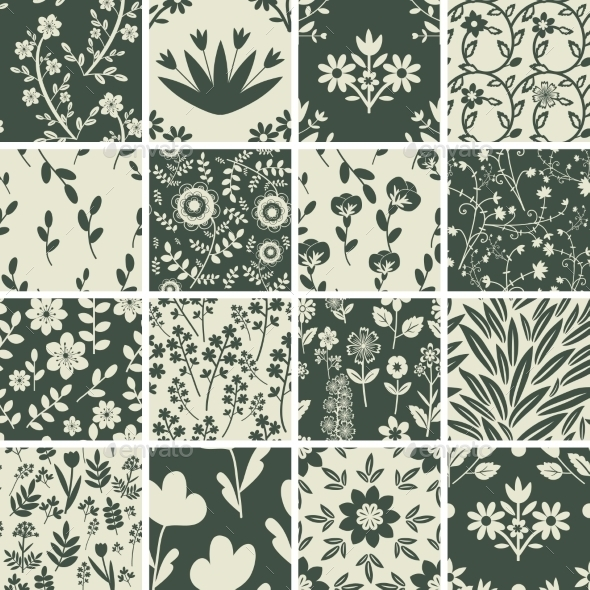 GraphicRiver Seamless Patterns 11150284