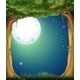 Forest and Fullmoon - GraphicRiver Item for Sale