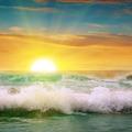 sunrise over the ocean - PhotoDune Item for Sale