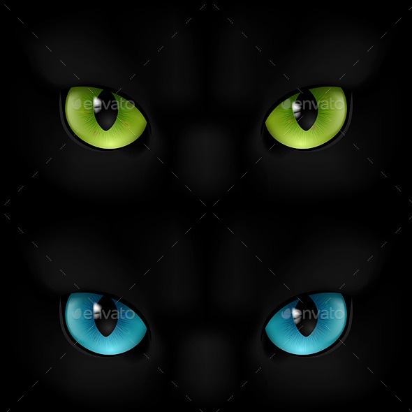 GraphicRiver Cats Eyes 11150667