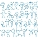Doodle People - GraphicRiver Item for Sale