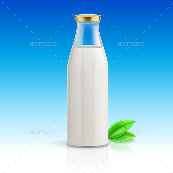 GraphicRiver Milk Bottle 11150673