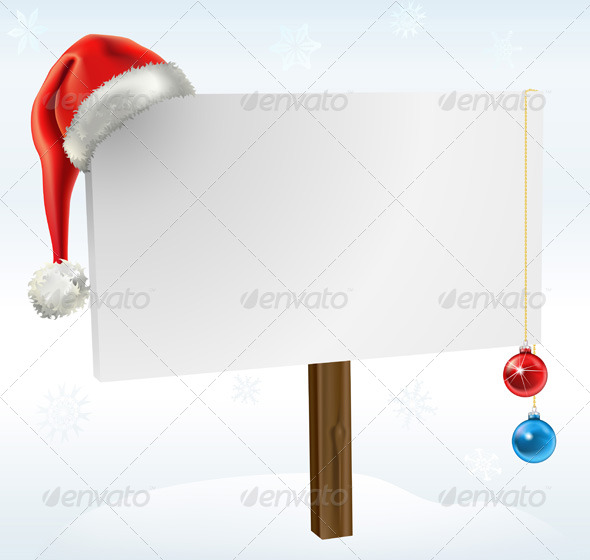 GraphicRiver Christmas Sign 137904