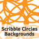 Scribble Circles Backgrounds - GraphicRiver Item for Sale