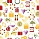 Jewelry Seamless Pattern Background - GraphicRiver Item for Sale