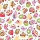 Baking and Desserts Seamless Pattern - GraphicRiver Item for Sale