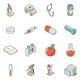 Medicine and Health Isometric Icons - GraphicRiver Item for Sale