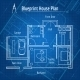 Blueprint House Plan - GraphicRiver Item for Sale