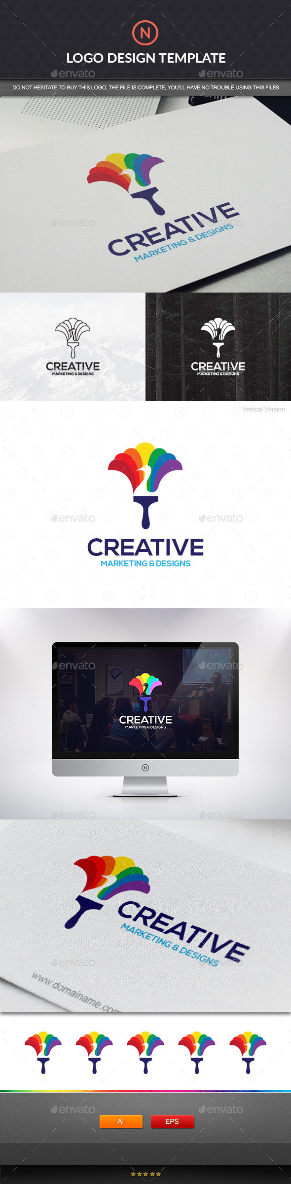GraphicRiver Creative Media Colorful 11151460