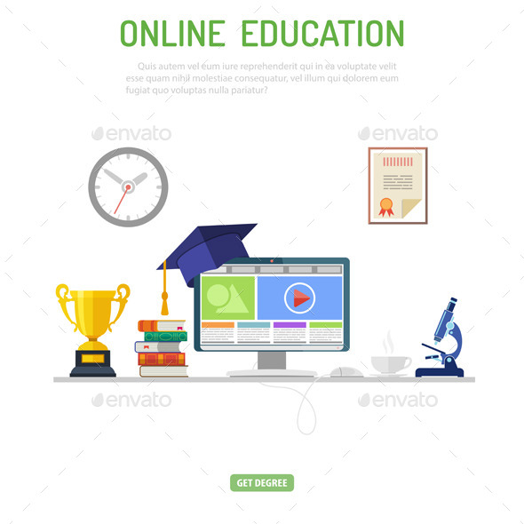 GraphicRiver Online Education Concept 11152610