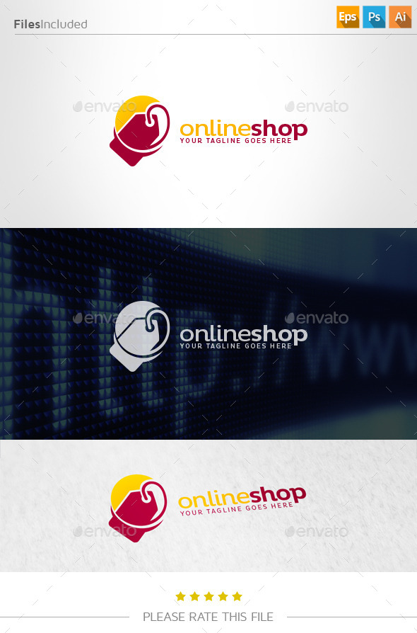 GraphicRiver Online Shop Logo 11152660