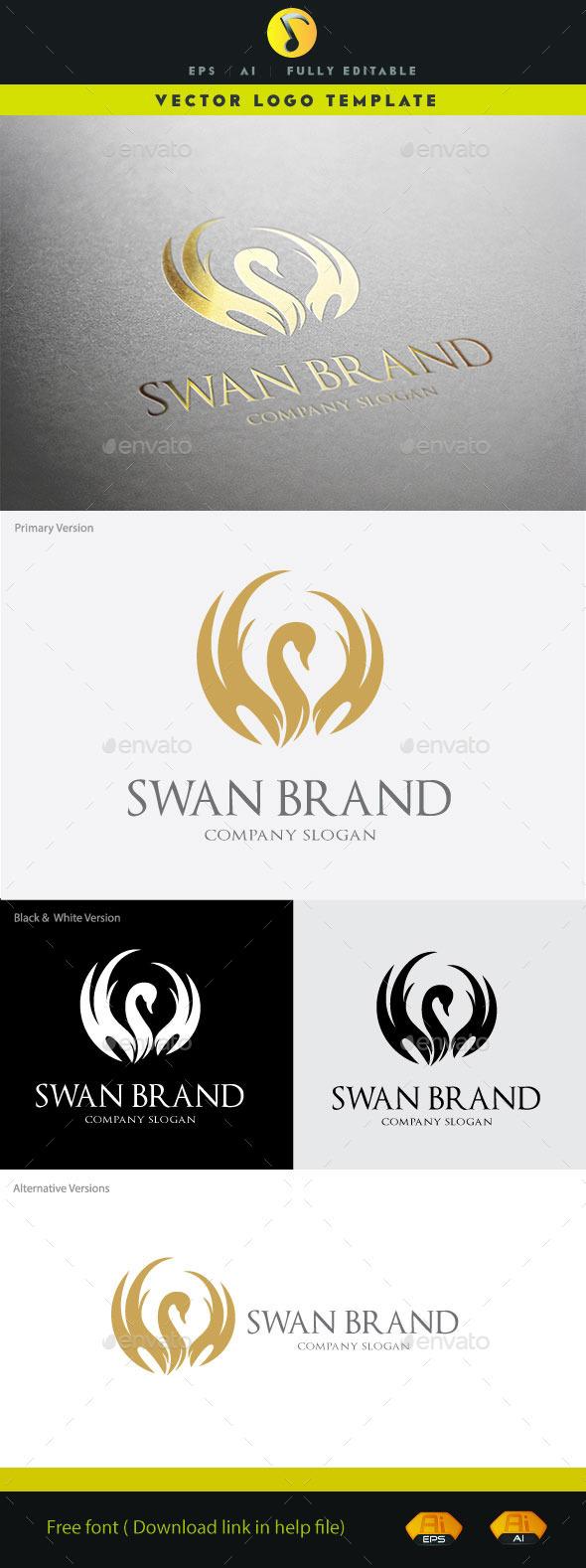 GraphicRiver Swan Brand 11152677