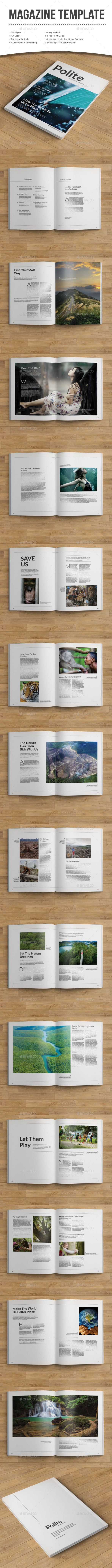 GraphicRiver polite magazine 11094334