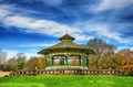 Bandstand in Greenhead park, Huddersfield, Yorkshire, England - PhotoDune Item for Sale