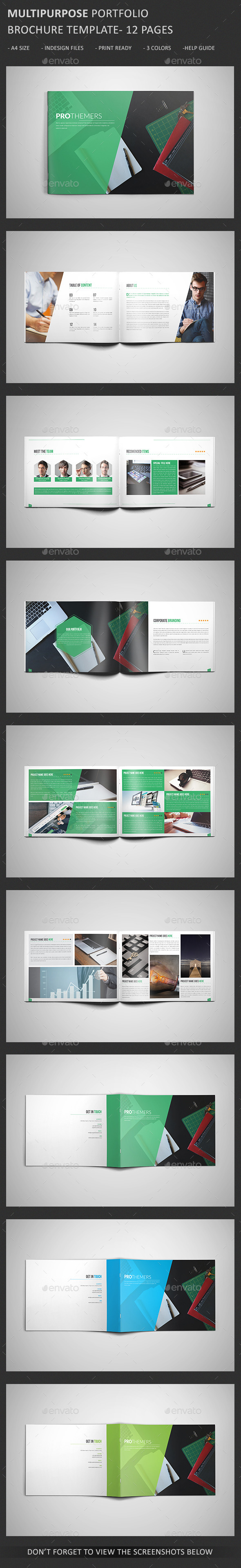 GraphicRiver Portfolio Brochure Template V2 11152993