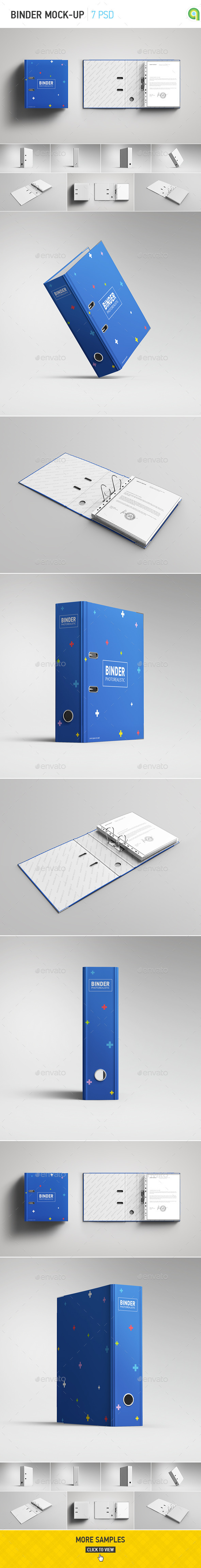 GraphicRiver Binder Mock-Up 11153013