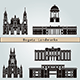 Bogota Landmarks and Monuments - GraphicRiver Item for Sale