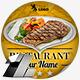 Elegant Restaurant Web & Facebook Banners Ads - GraphicRiver Item for Sale