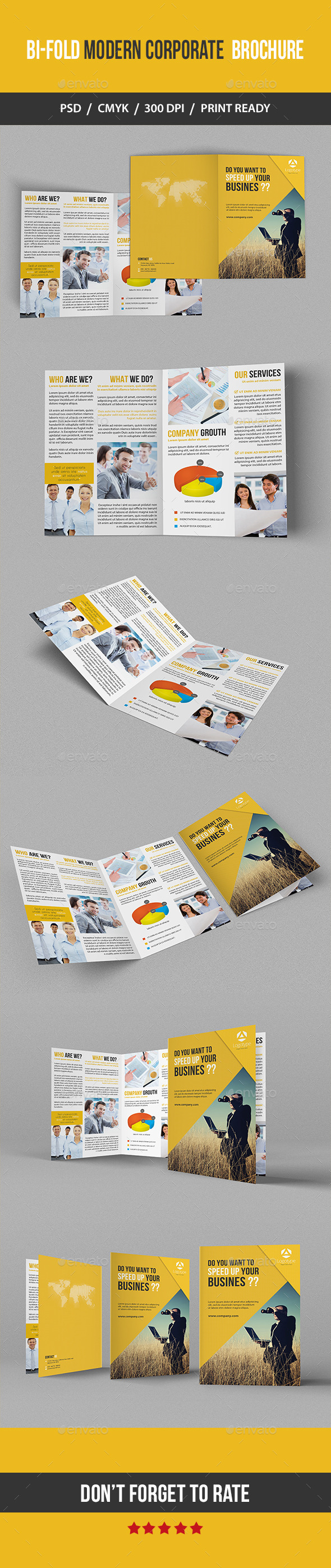 GraphicRiver Bi-fold Modern Corporate Brochure 11153639