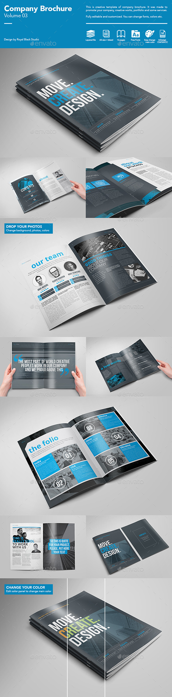 GraphicRiver Company Brochure Vol.3 11153807