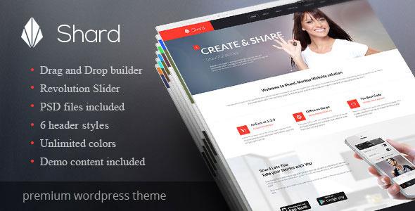 Shard - Multipurpose Business Parallax WP Theme - Business Corporate