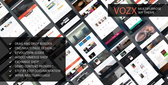 Vozx - Multipurpose WordPress Theme