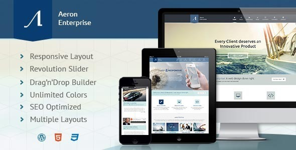 Aeron - Premium Responsive Corporate Theme - Business Corporate