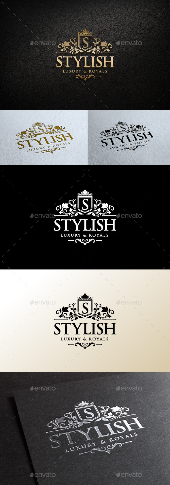 GraphicRiver Stylish Logo 11144626