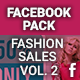 Facebook Pack - Fashion Sales Vol. 2 - GraphicRiver Item for Sale