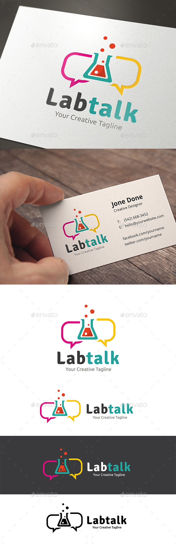 GraphicRiver Lab Talk 11153925