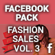 Facebook Pack - Fashion Sales Vol. 3 - GraphicRiver Item for Sale